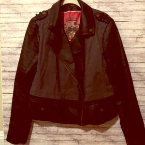 Bernardo gray and black jacket